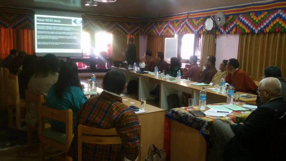 Bhutan – School eye health programme planning
