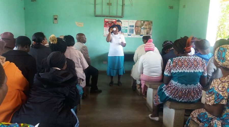 Training of Manicaland Village Health Workers in Primary Eye Care