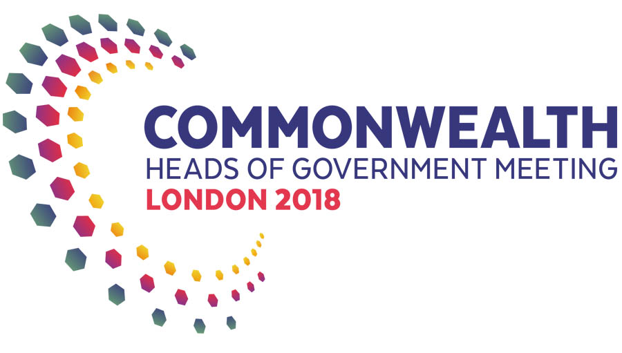 Towards A Common Future; Commonwealth heads of government meeting 2018 logo