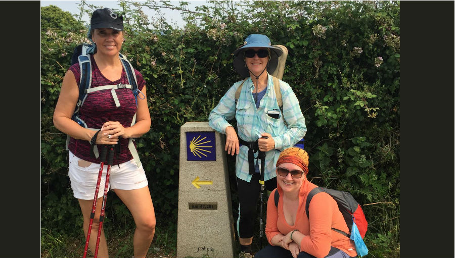3 nurses, 1 walk and a global need for ophthalmic nurse resources; Photo: left to right: Lisa Buckland, Sandy Burnett & Heather Machin (front).