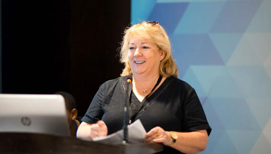 Caroline Harper/ Story: Caroline Harper awarded the Hemingway Award