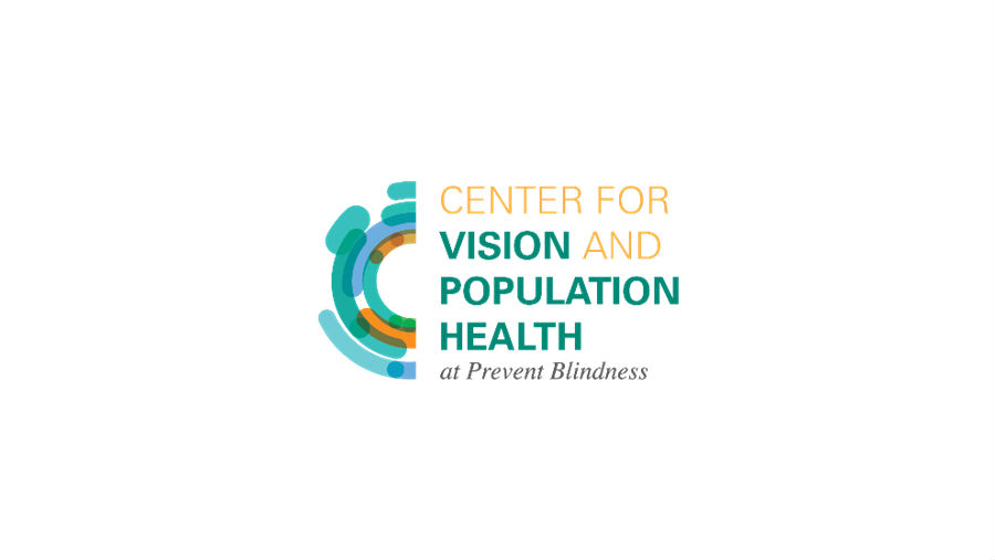 Logo of Center for Vision and Population Health/ Story: Prevent Blindness Launches Center for Vision and Population Health