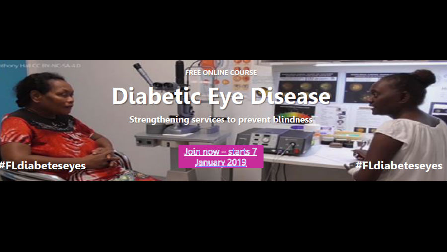 Image: ICEH's Course on Diabetic Eye Disease: Strengthening Services to Prevent Blindness