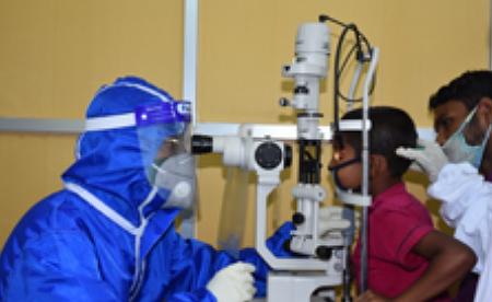 Dr. K. Zaman BNSB Eye Hospital - COVID 19