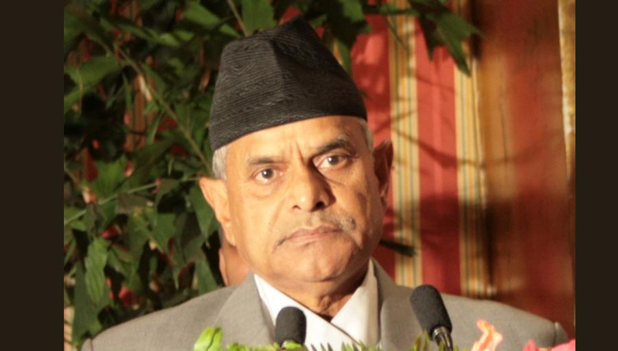 Former President of Nepal to be Chief Guest at CoM/ Image: Dr Ram Baran Yadav