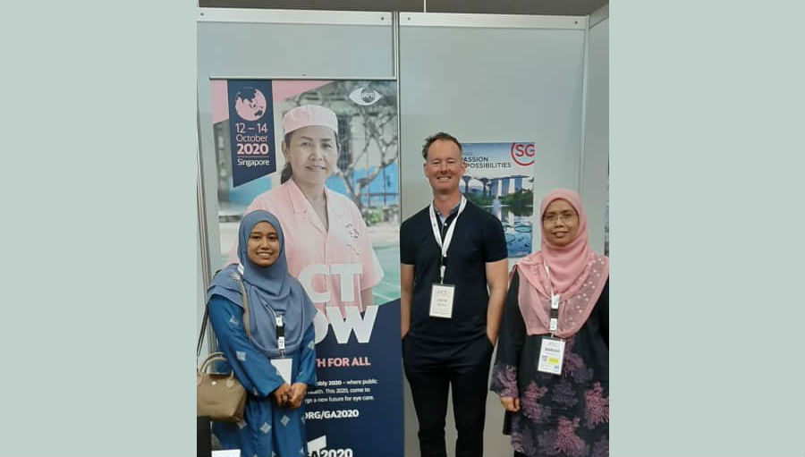 Drew at APOC/ Story: Optometry Showcased in the Philippines