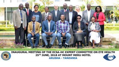 ECSA HC delegates July 2018