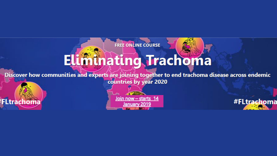 Story: ICEH's free online course on Eliminating Trachoma starts Jan 2019