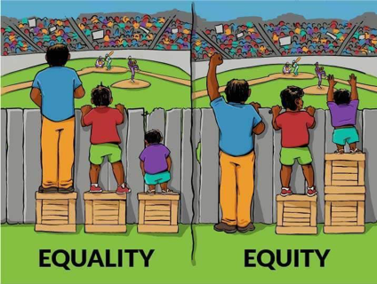 Equality Equity Cartoon