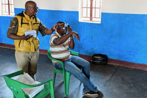 Eye screening in Malawi