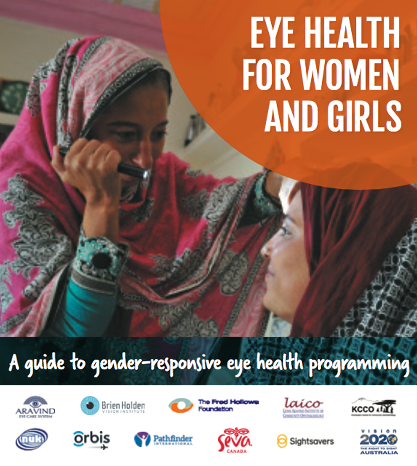 Eye health for women and girls