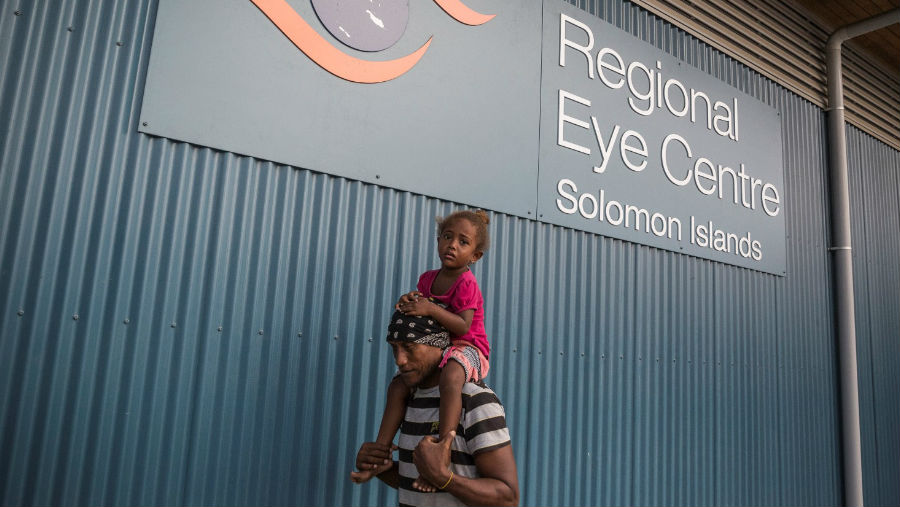 Happy 25th Birthday Fred Hollows Foundation New Zealand/ Solomon Islands Clinic