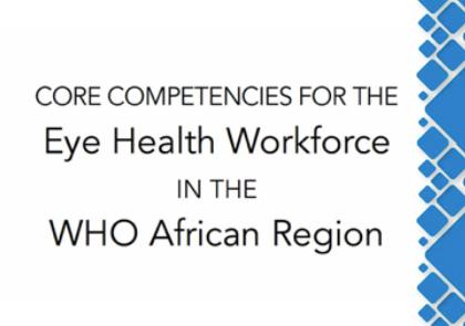 Eye Health Workforce WHO Africa Region