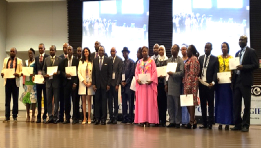 First Francophone Africa Leadership Development Program Graduates
