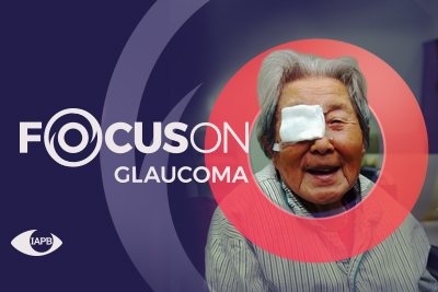 Focus On Glaucoma campaign picture