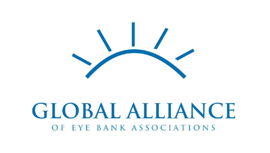 Launch of an Ethical Agreement for use of Eye Tissue. The Global Alliance of Eye bank Associations logo