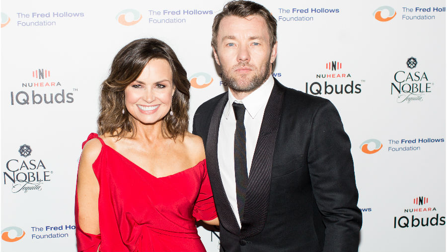 Edgerton pushes for end to avoidable blindness for Fred Hollows Foundation, Image: Lisa Wilkinson with Joel Edgerton at the event