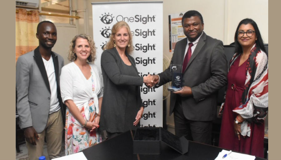 Story: OneSight and The Gambia Sign MoU guaranteeing vision care access to all Gambians