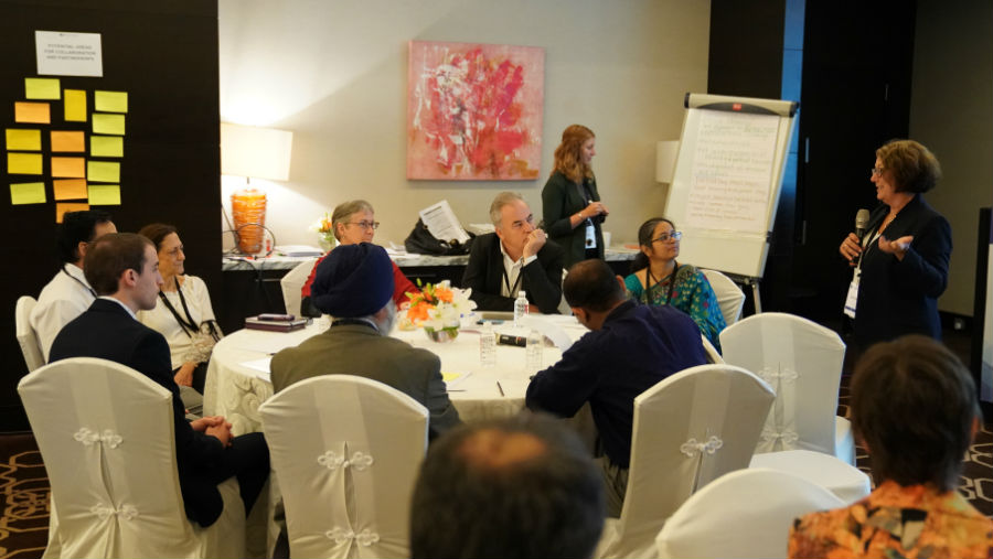 Group discussion at LCIF session