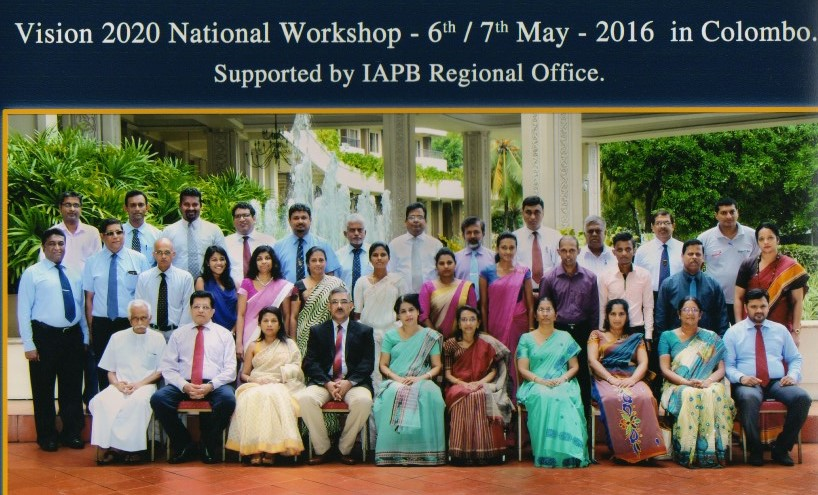 VISION 2020 Sri Lanka workshop, May 2016