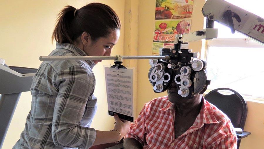 El Valor de la Educación en la Prevención de Ceguera Asociada a Diabetes. Photo by Shabana Shaw, Guyana