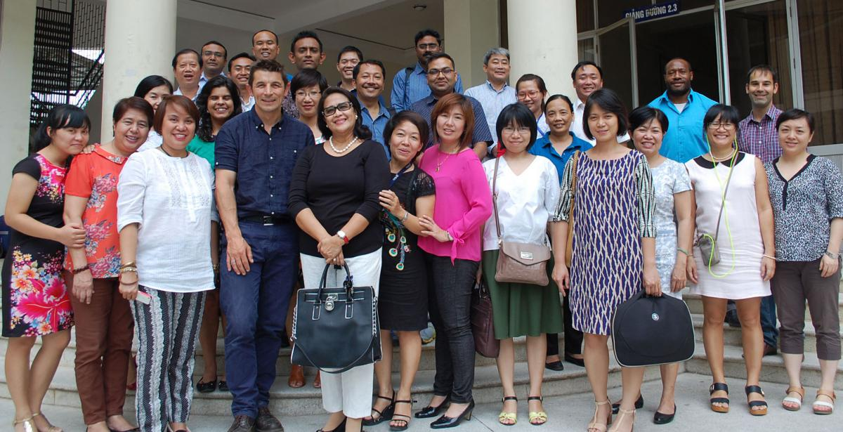 EHSa Workshop participants, Hanoi, Vietnam IAPB Western Pacific, 2015