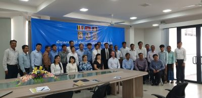 Health Finance Workshop in Cambodia