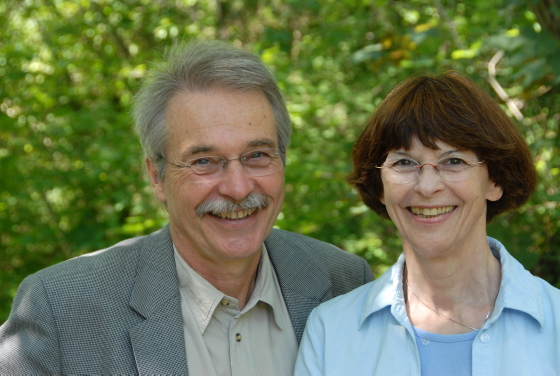 Dr Albrecht Hennig and wife, Kristina. Picture courtesy CBM
