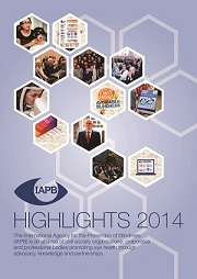 IAPB Highlights 2014 cover