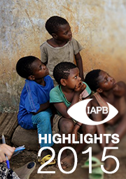 IAPB Highlights 2015 cover