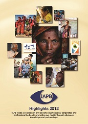 IAPB Highlights 2012 cover
