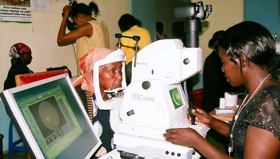 An Exciting Time for Eye Health. Photo by Ciku Mathenge; 2013