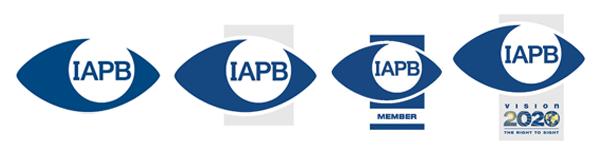 IAPB logo variations