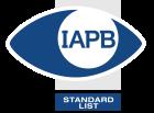 IAPB Standard List logo