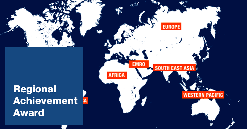 IAPB regions map
