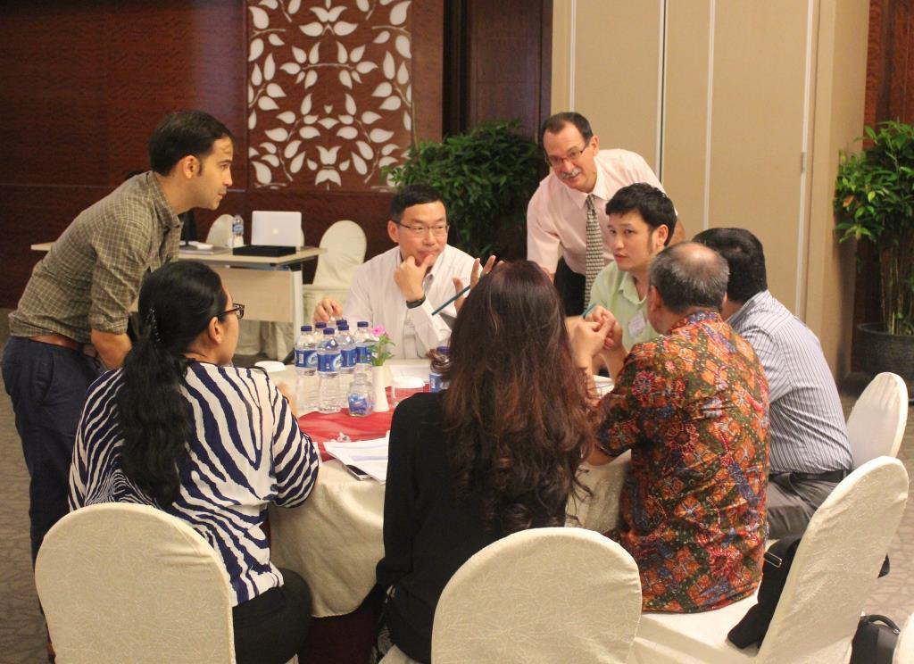 Gender discussion at the Indonesia – SEA regional workshop