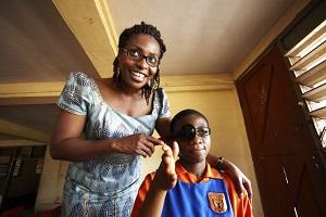 Dr. Anne Ebri - Ghana - Image by BHVI