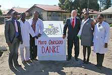Groundbreaking ceremony for new LIGHT FOR THE WORLD eye clinic in Beira, Mozambique