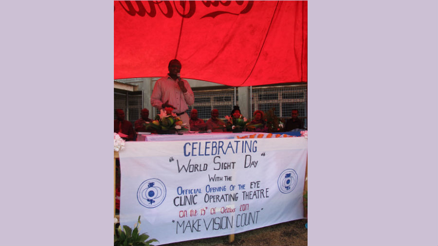 Goroka Eye Clinic Operating Theatre Launch