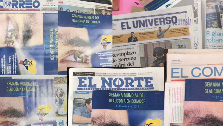 Magazines for WGW in Ecuadaor