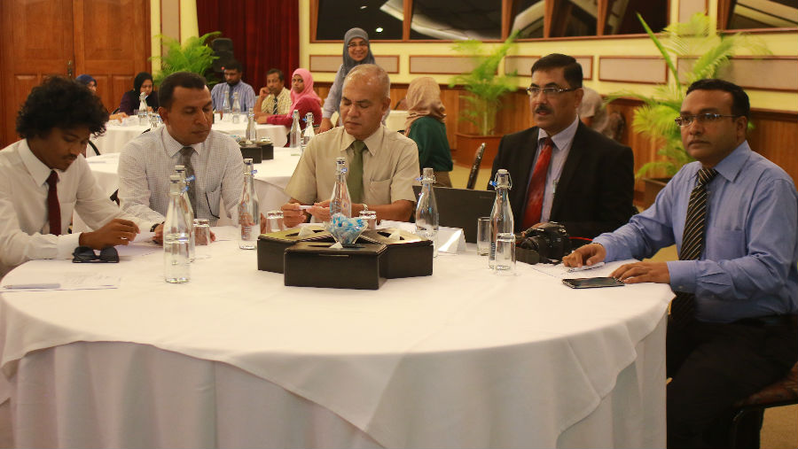 VISION 2020 Workshops and IAPB Latin America Position to End, Image: Workshop in Maldives