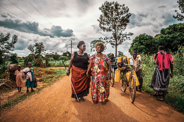 Margaret in Uganda - Alan Compton