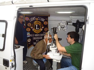Dr. Foureaux - Mobile Clinic - Lions Clubs