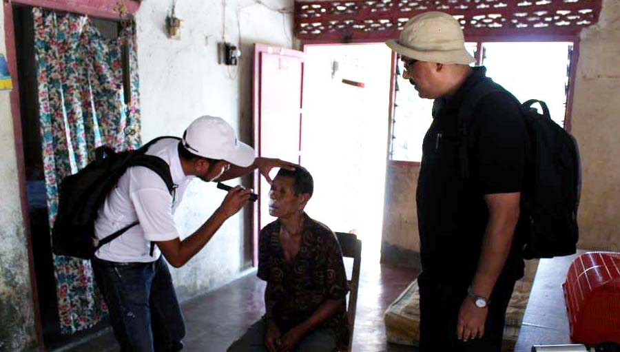 An Eye Care Newsletter for South East Asia. Eye screening for RAAB in East Timor