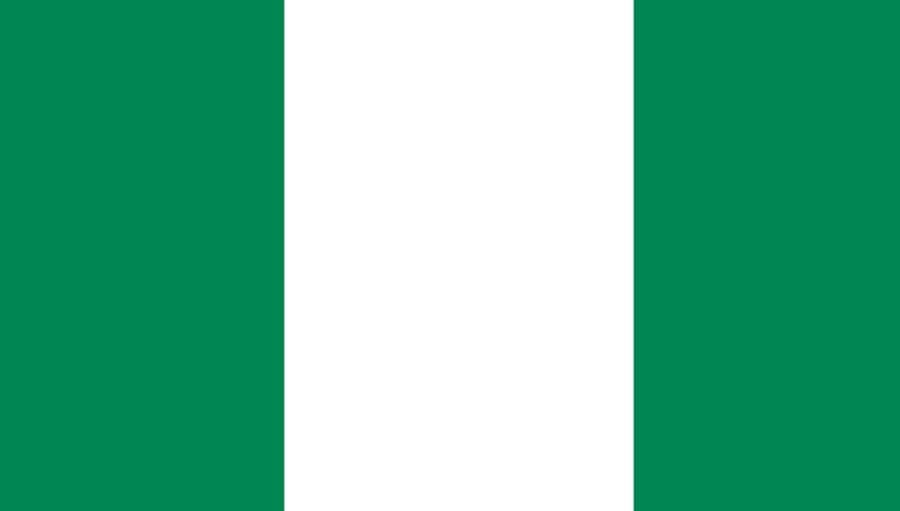 Nigeria Launches New Health Plan; Nigerian flag