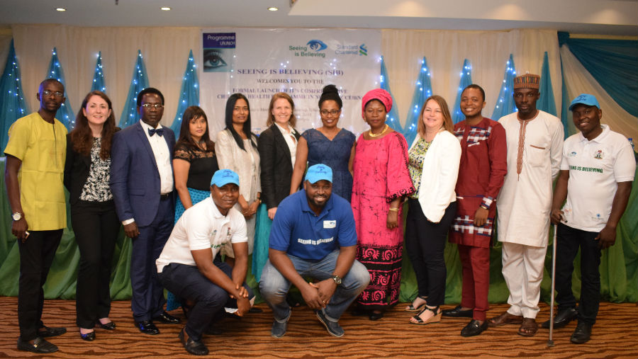 Programme to prevent childhood blindness launched in Nigeria/ Image: SiB team