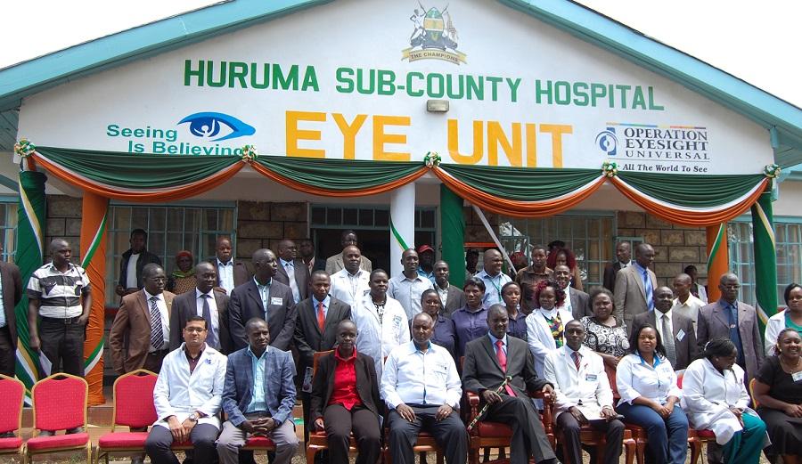 Huruma Sub-County Hospital Eye Unit
