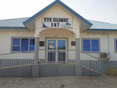 Eye Clinic Signboard OEU Ghana