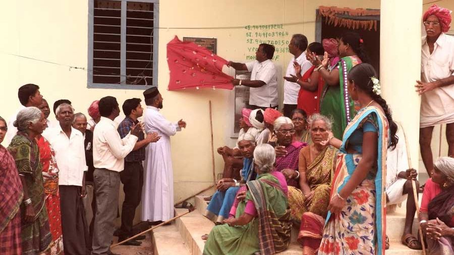 Operation Eyesight Universal; declaring a village Avoidable Blindness free