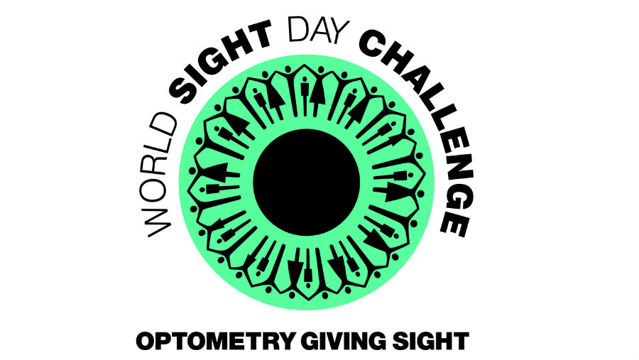 Optometry Giving Sight World Sight Day Challenge logo/ Story: Optical Coalition champions Global Access to eye care